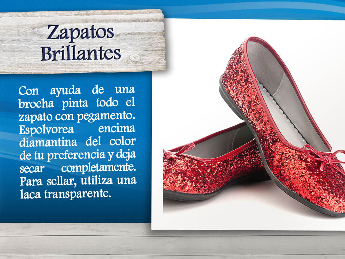Zapatos brillantes
